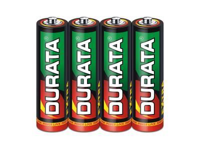 DURATA Zinc-Manganese Dry Battery Size AA