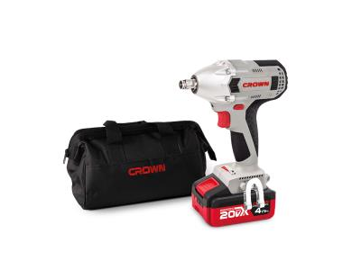 CROWN 20V Cordless Impact Wrench Brushless Power Tools CT22015HX-4 TB