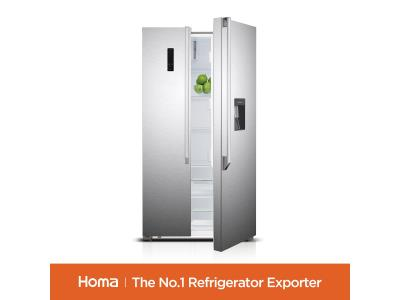 HOMA FF2-55D SIDE BY SIDE REFRIGERATOR