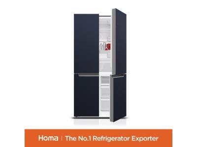 HOMA FF4-73.1 Cross Four Door Refrigerator