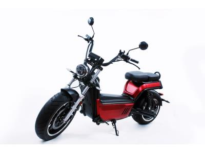 EEC/Coc Huge Motor Removable Battery 2-Man Fast-Charged Luqi Electric Motorcycle