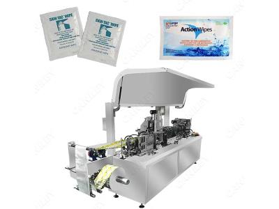 CE Certification Alcohol Pad Packing Machine