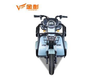 EEC Certificate Simple type 3 wheel folding electric passenger tricycle