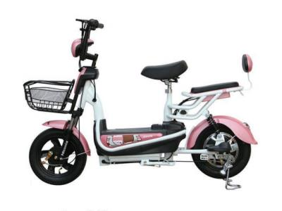 Electric scooter with pedal assistance