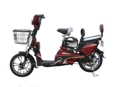 Electric scooter with lead-acid battery