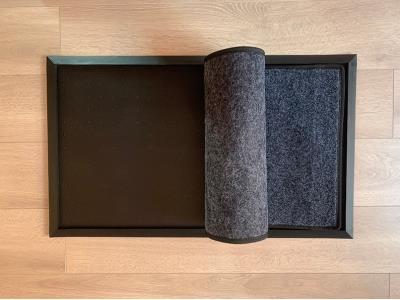 Disinfectant door mat