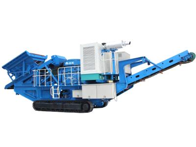 MP-C Series Mobile Cone Crushing Plant