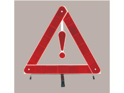 cheap car emergency traffic reflective professional warning triangle