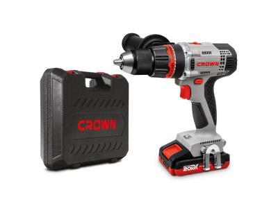 CROWN 20V Cordless Drill/Driver 2AH 1/2