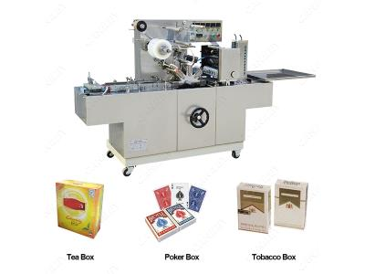 Automatic Cellophane Wrapping Machine for Perfume Box