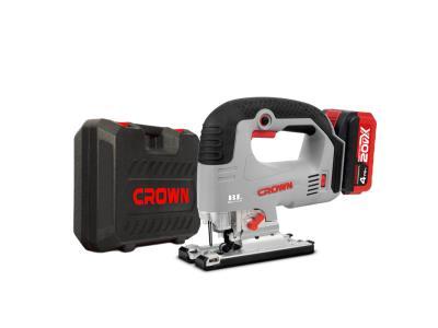 CROWN 20V Max Cordless Jigsaw 4AH Brushless Power Tools CT25003HX-4 BMC