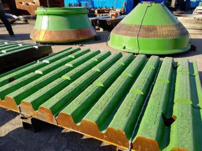 The High Manganese Steel matrix ceramic composite Mantle/Concave and Jaw plate