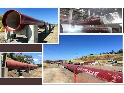EN598-2007 Ductile Iron Pipes