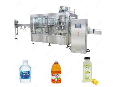 Automatic Beer Bottle Filling Capping Machine, Water Filling Machine