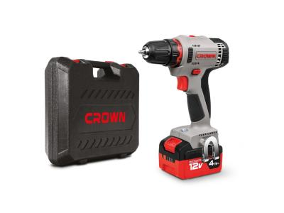 CROWN 12V Cordless Drills Driver Lithium-ion Step Speed Power Tools CT21081H-4 BMC