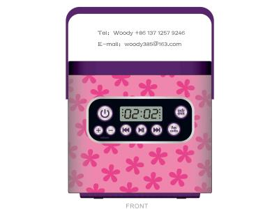 Music Portable Jewel Case T1