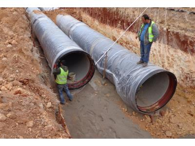 DN1500 Ductile Iron Pipes
