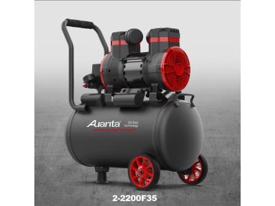 Oil free air compressor 2-2200F35