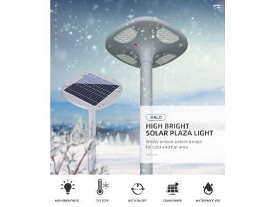 Solar powered landscape street lamp pole solar lamps exterior