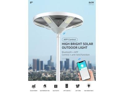 SRESKY HALO 2 solar powered lighting,high lumen 360 degree lighting solar led street light