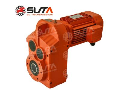 FA 220V 2.2Kw electric motor gearbox 60 rpm gear motor parallel shaft gearboxes