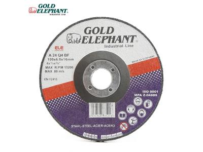 Gold Elephant factory supply 4 inch grinding wheel discs for metal