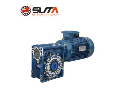 Worm gear speed reducer rv030 with 30rpm 60rpm 80rpm Aluminum Worm reducer