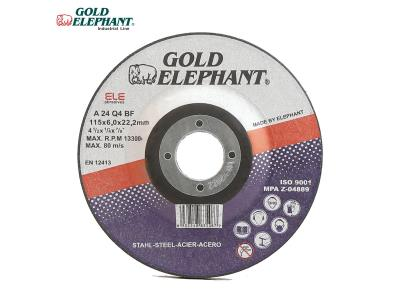 Gold Elephant abrasive grinding disc 4.5 inch grinding wheel discs for metal