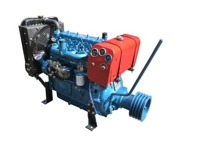 Power unit Small multi-cylinders machinery engines with pulley and clutch