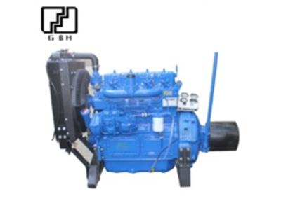 multi-cylinders diesel engine with pulley and clutch for agriculture irrigation and cement