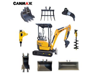 Canmax 3.5 Ton Mini Crawler Excavator Small Digger Ex9035 Price for Sale