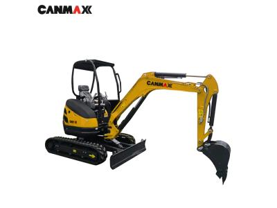 Canmax 2.5 Ton Mini Excavator Ex9025 small digger Price for Sale