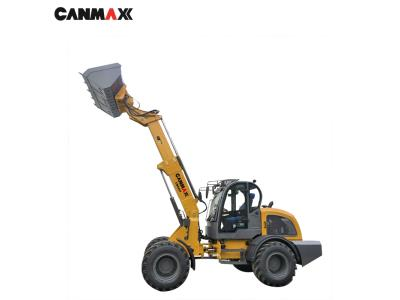Shanghai CANMAX CM825T 2.5ton telescopic boom loader price for sale