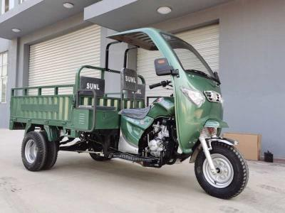 250CC water cooled gasoline cargo tricycle with Cabin