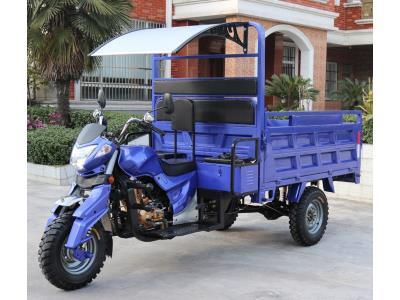1.5Ton heavy loader gasoline cargo tricycle