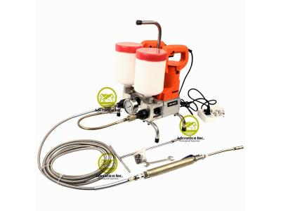 Dual power speed adjustable Epoxy Injection Pump Regulation 4:1, 3:1, 2:1, 1:1 All range