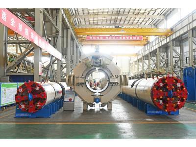 Direct pipe laying machine