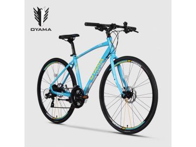 Wholesale Road bike 21 speed Men's Hybrid Bike 700C disc brake Oyama Bicicletas