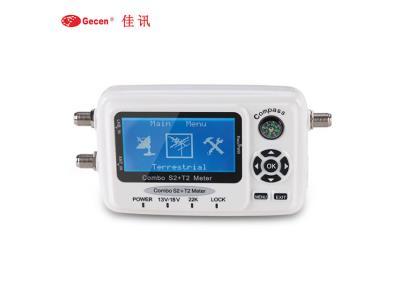 Gecen Combo DVB-S/S2 T/T2 Digital Satellite Finder SF-560