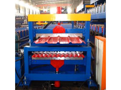 double layer corrugated forming machine iron sheet making machine drywall metal roofing  m