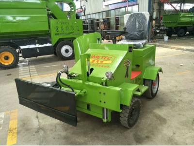 Electric feed pusher for cow farm