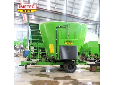 vertical TMR feed mixer for cwo breeding