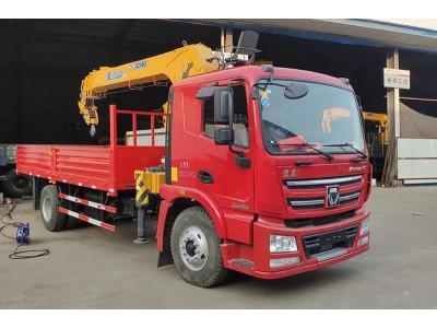 SQS200-4 New 8 Ton Truck Mounted Crane