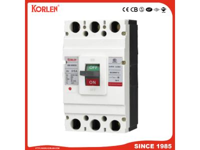 Moulded Case Circuit Breaker MCCB with Ce CB (KNM1 3P/4P) 32A~800A 3p