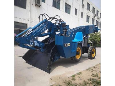 Yixun wheel type slag raking machine small electric slag raking machine for mine