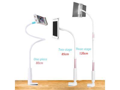 Multifunctional Long Arm Plastic Gooseneck Lazy Tablet Phone holder for Desk Table Bed