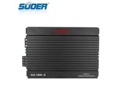 4 Channel 600W Class AB Car Amplifier