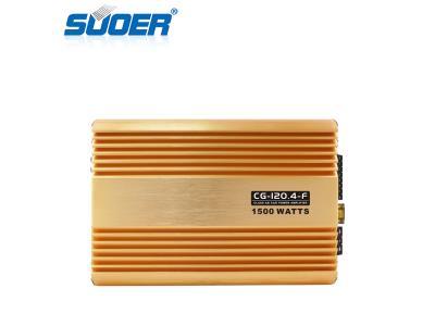 CG-120.4-F Full Frequency 4Channel 1500W Class AB Car Amplifier
