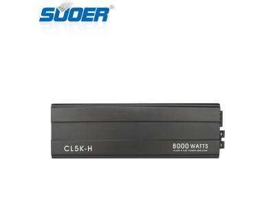 CL-5K Mono Channel 8000W High Power Class D Car Amplifier