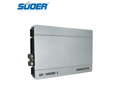 CF-4000D-J Mono Channel 10000W High Power Class D Car Amplifier